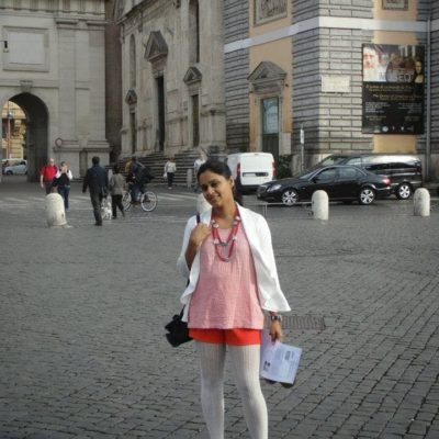 When in Italy!