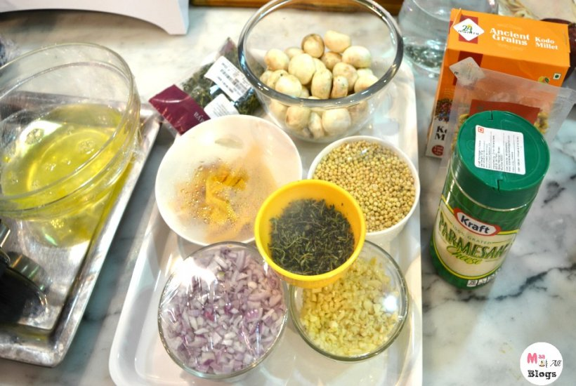 ancient grain risotto ingredients