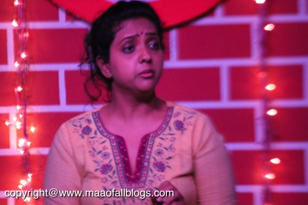 Radhika essaying the role of an unwed mother
