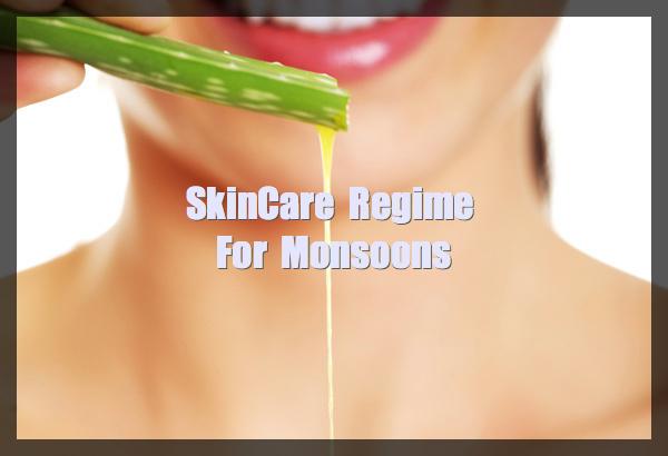 Skin care for monsoons
