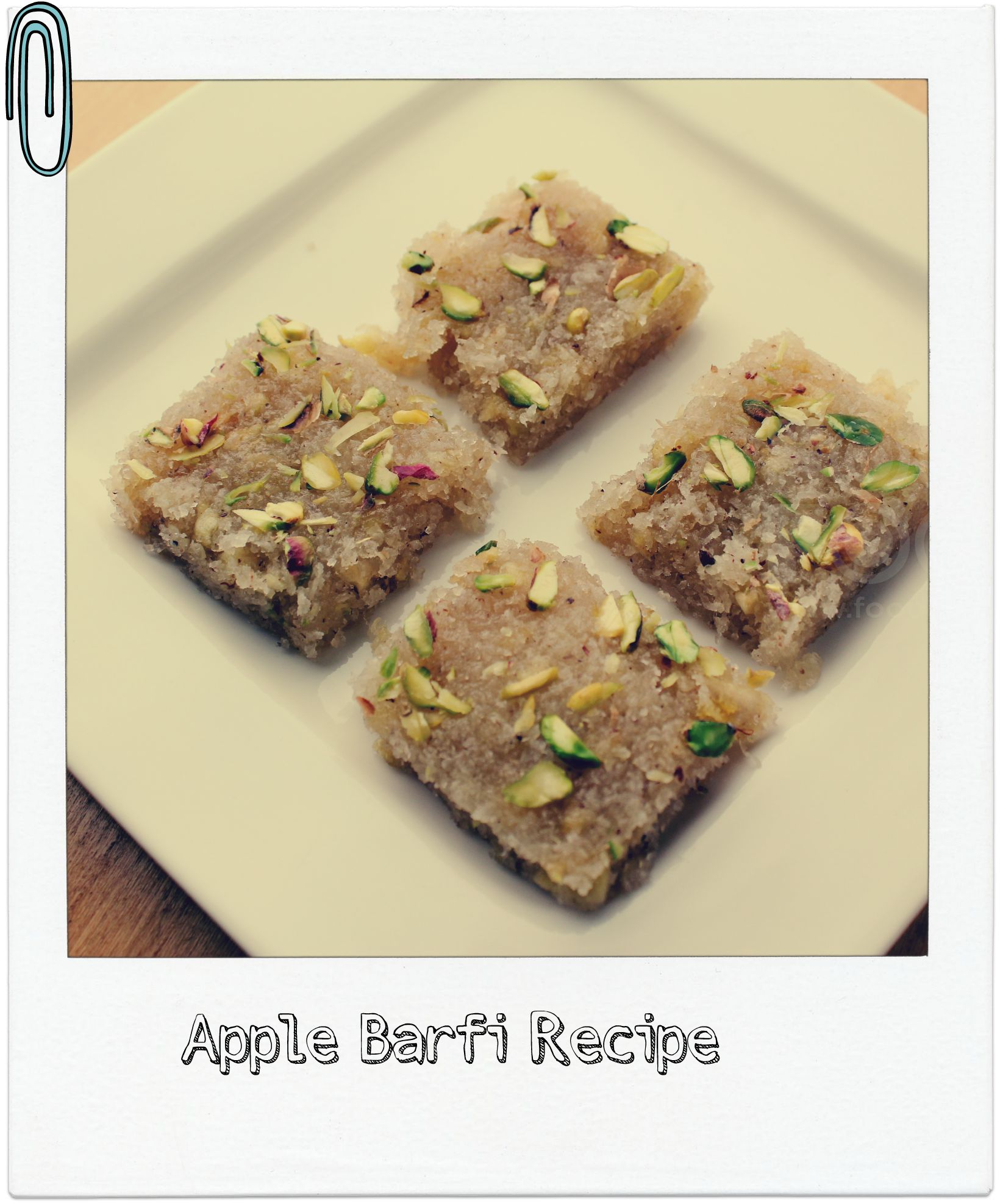 Apple Barfi recipe
