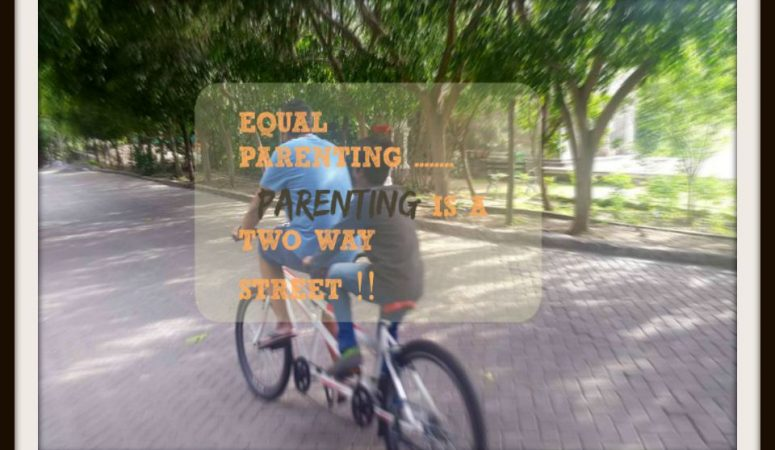 Parenting Is A Two Way Street