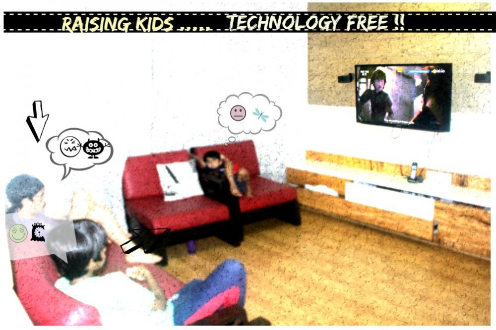 Let's Try And Raise Kids Technologically Free