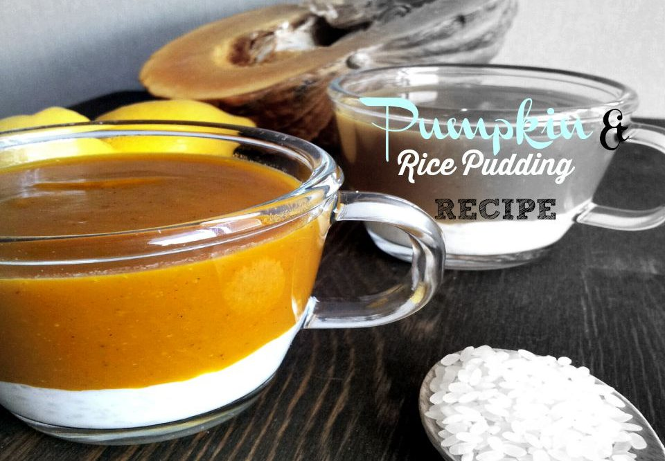 Recipe : Rice And Pumpkin Pudding