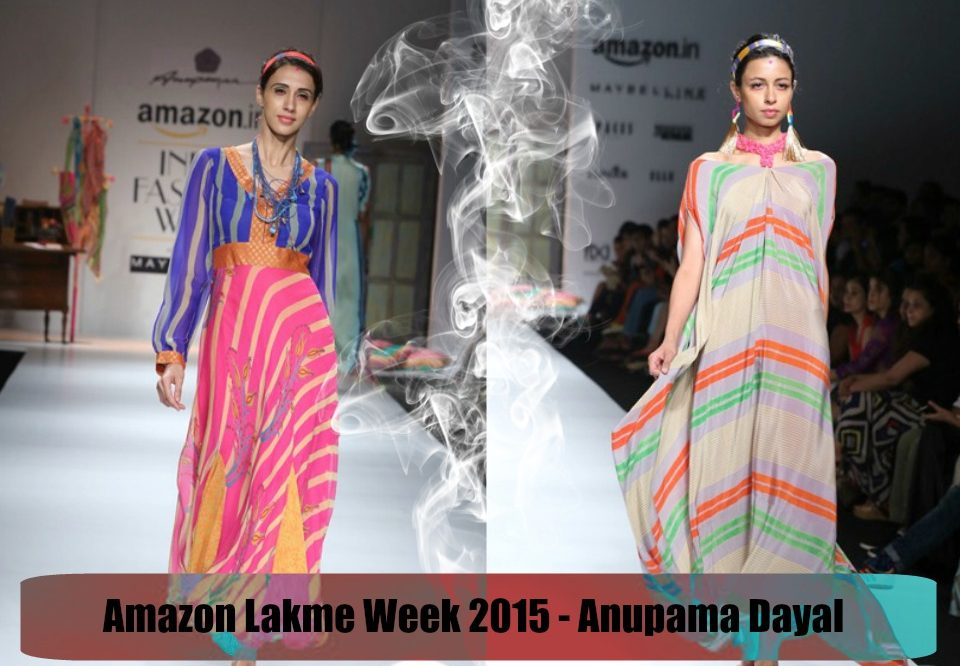 Amazon Fashion Week 2015 – Spring Summer '16