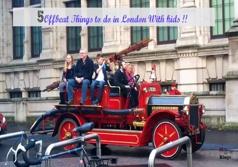 explore offbeat london with kids