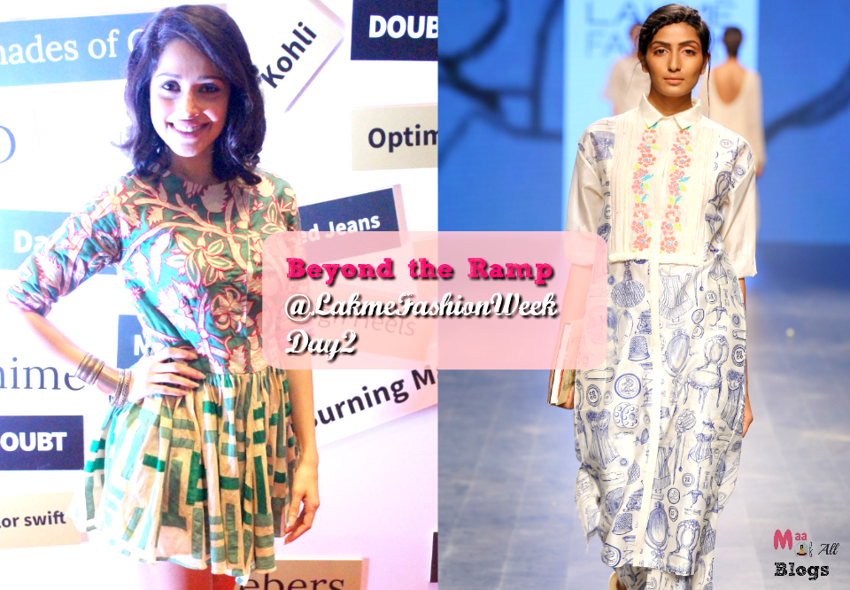 Beyond The Ramp With #LYFSmartphones: Lakme Fashion Week day 2