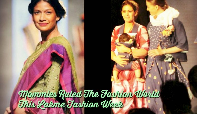 Mommies Ruled The Fashion World This Season At Lakme Fashion Week