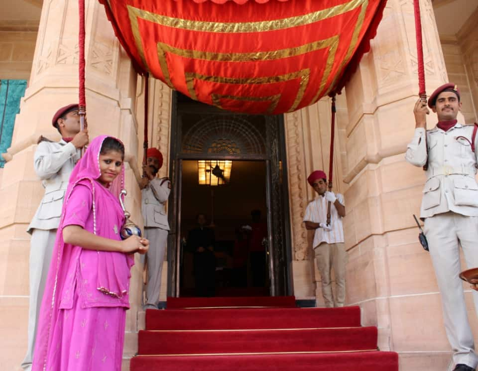Jodhpur Umaid Bhawan Palace Royal Welcome 2