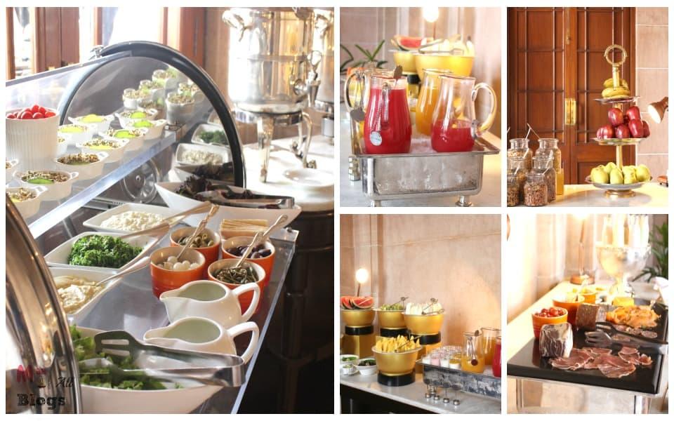 Jodhpur Umaid Bhawan Palace breakfast