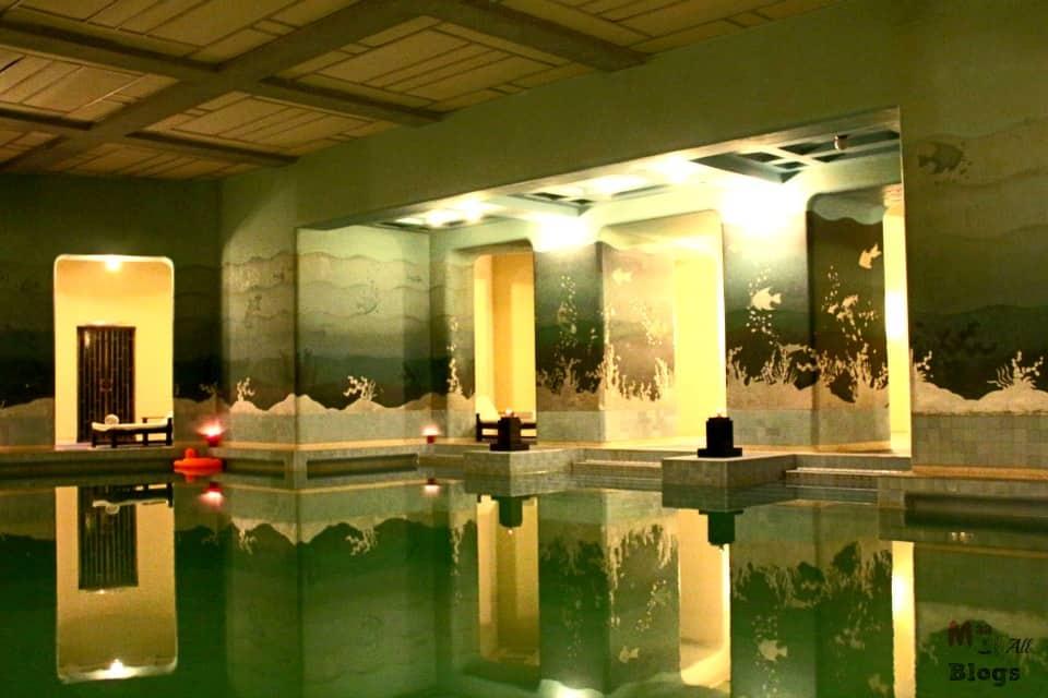 Jodhpur Umaid Bhawan Palace indoor pool