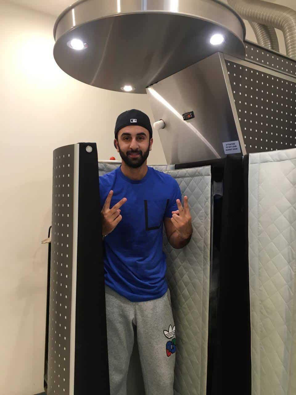 Bollywood Superstar at Alchemy Cryochamber