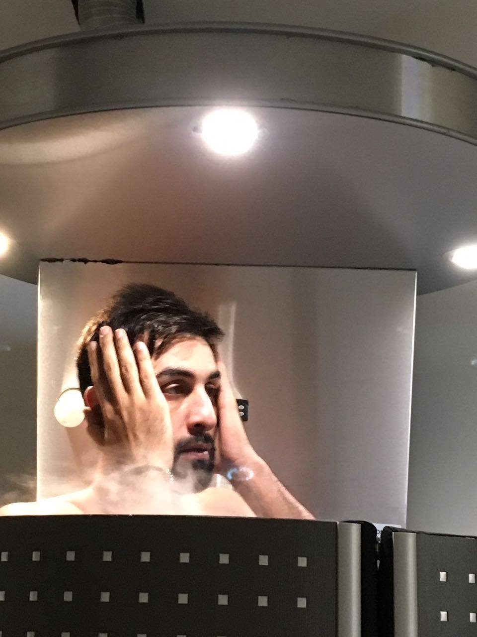 Ranbir in Cryochamber