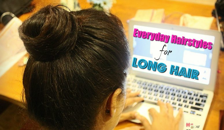 3 Everyday Hairstyles For Long Hair
