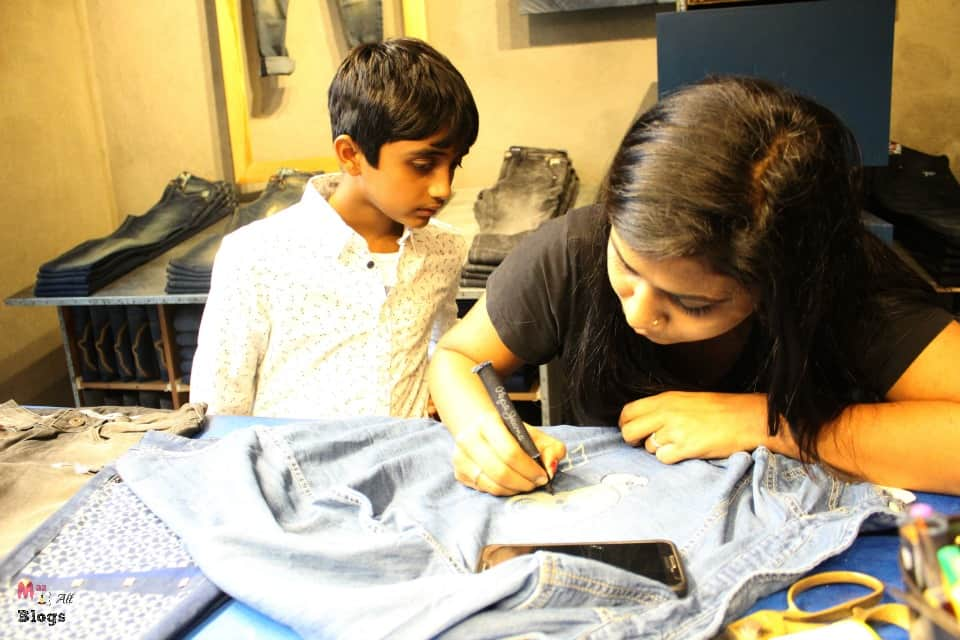 eeshan-supervising-final-touches-to-the-shirt