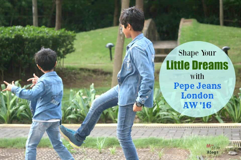 Shape Your Little Dreams with Pepe Jeans London AW '16