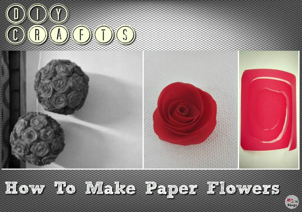 Diy crafts how to make paper flowers mightylinksfo Choice Image