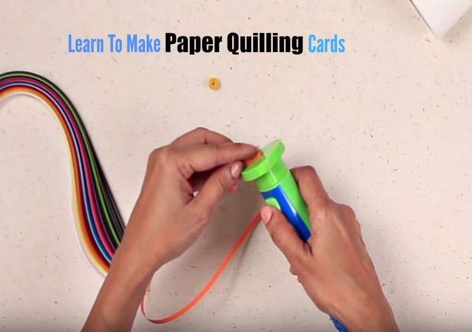 How To Make Paper Quilling Cards Part - 23: Maa Of All Blogs