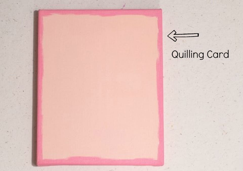 paper quilling-card