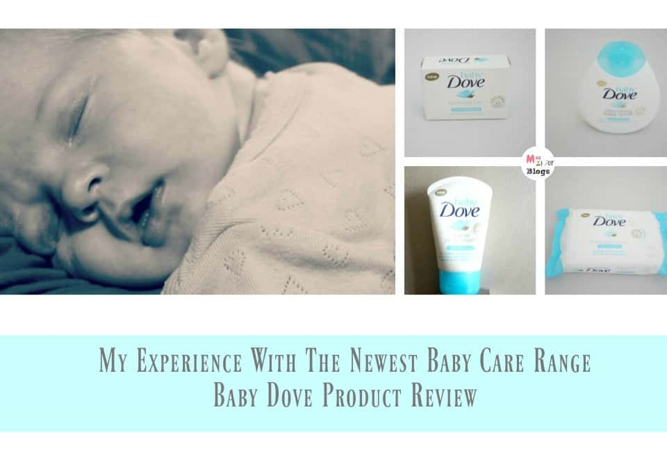 My Experience With The Newest Baby Care Range – Baby Dove Product Review