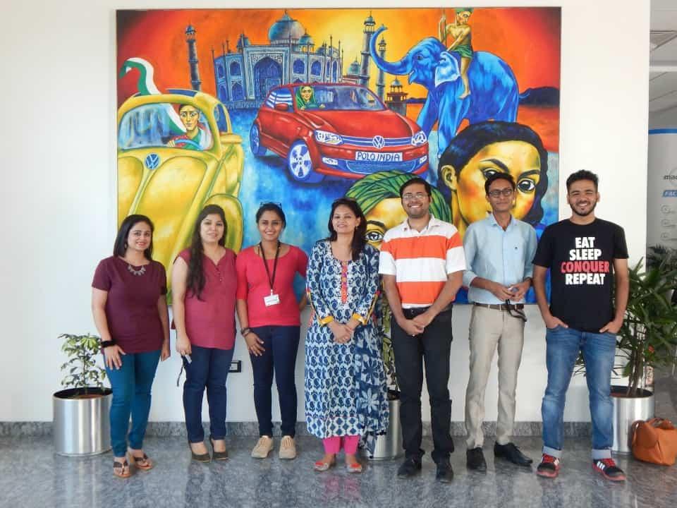 blogger-team-at-the-pune-chakan-plant