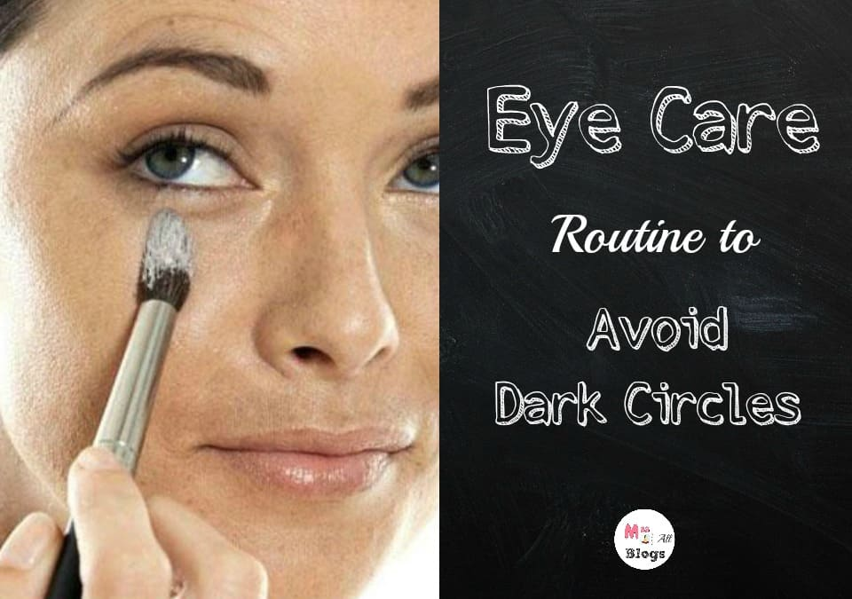 how to avoid dark circles
