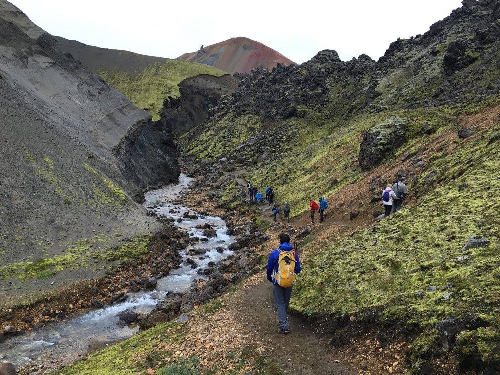 Iceland Trek Day 1 of Landmannalagaur trail