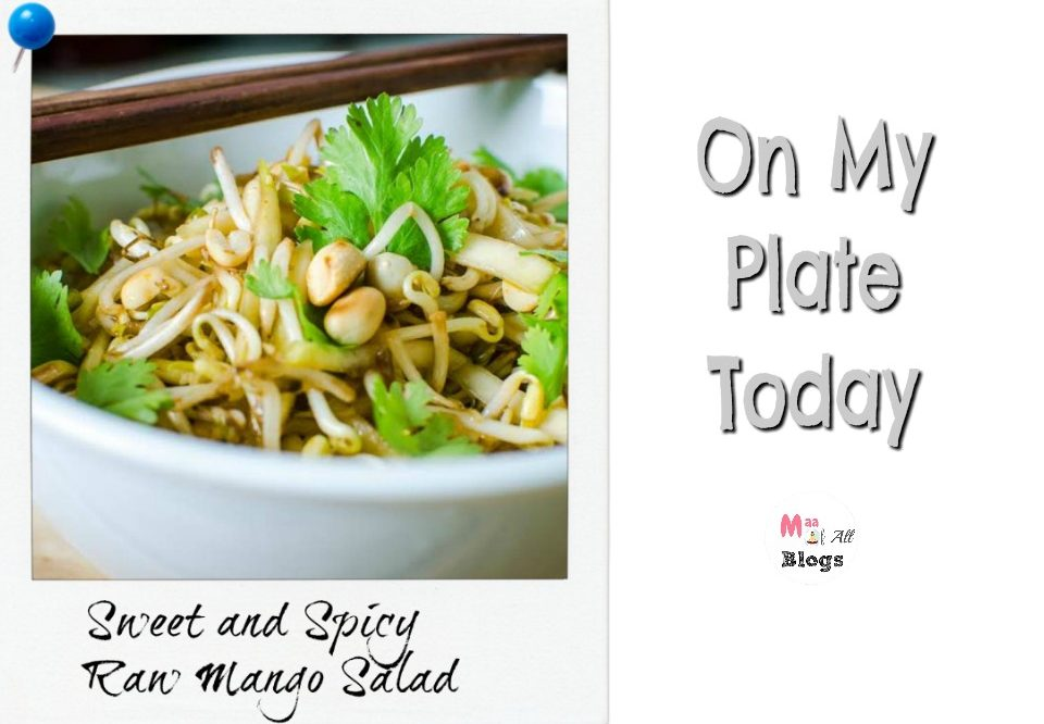 Raw Mango Salad For Your Healthy Plate