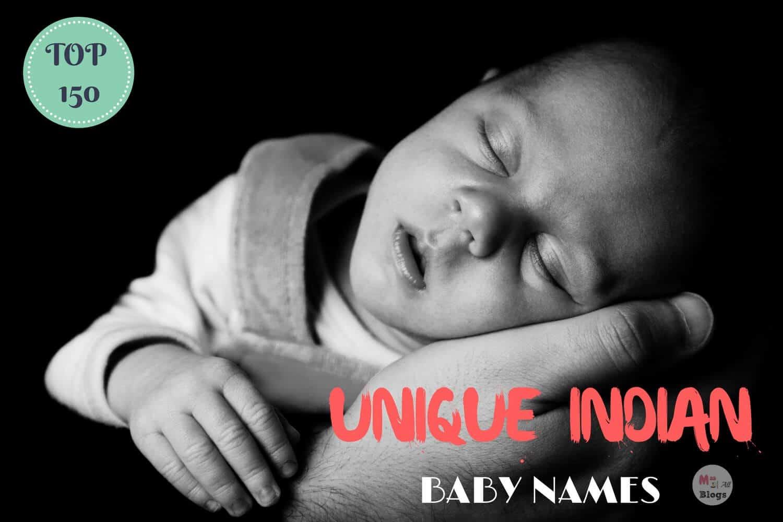 Top 150 Unique Indian Baby Names