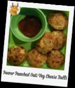 Power Punched Oats VegCheese Balls Recipe