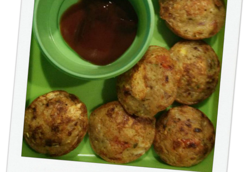 Power Punched Oats Veg Cheese Balls Recipe