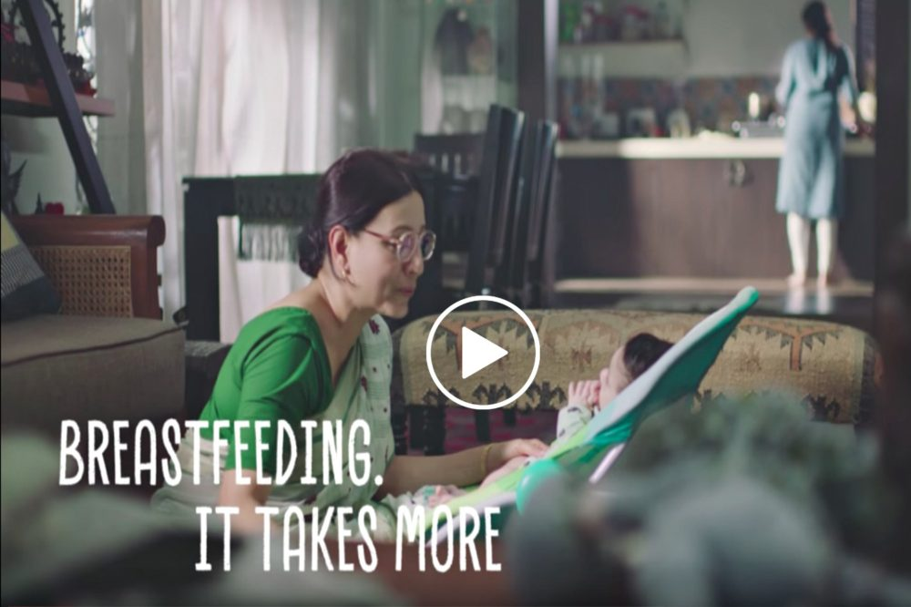 A Breastfeeding Mom Needs All Your Support