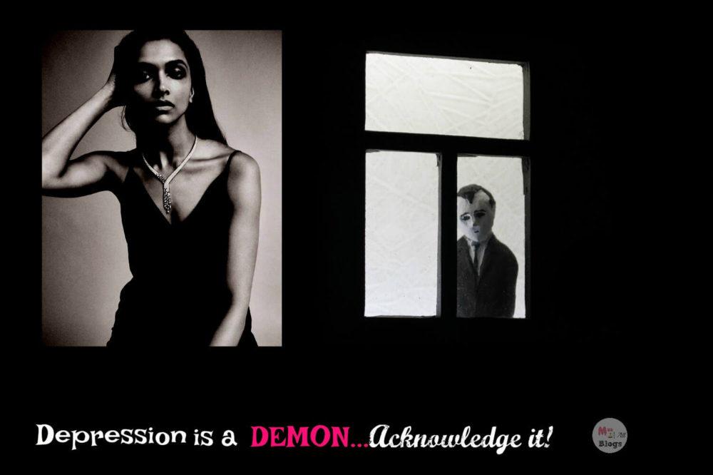 Depression is a Demon, Acknowledge It