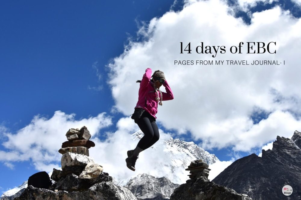 14 days of Everest Base Camp: Pages From My Travel Journal I