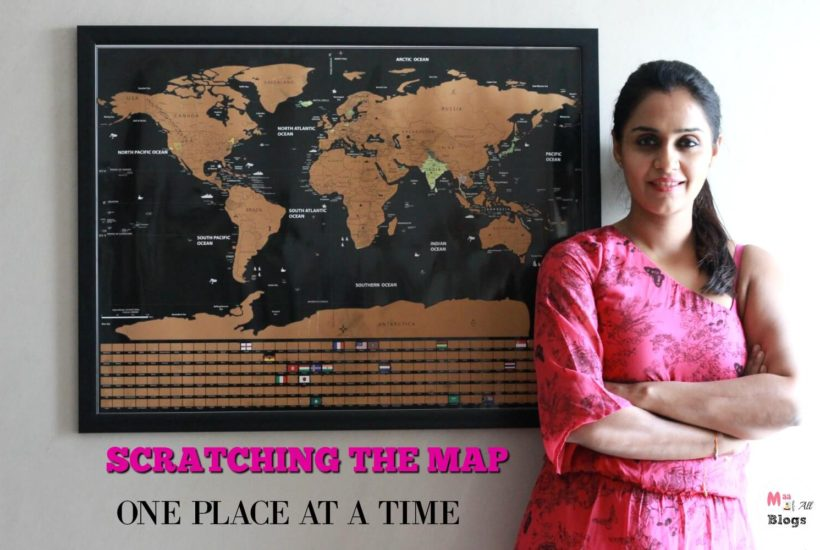 Scratching The Map One Place At A Time: My Travel Map