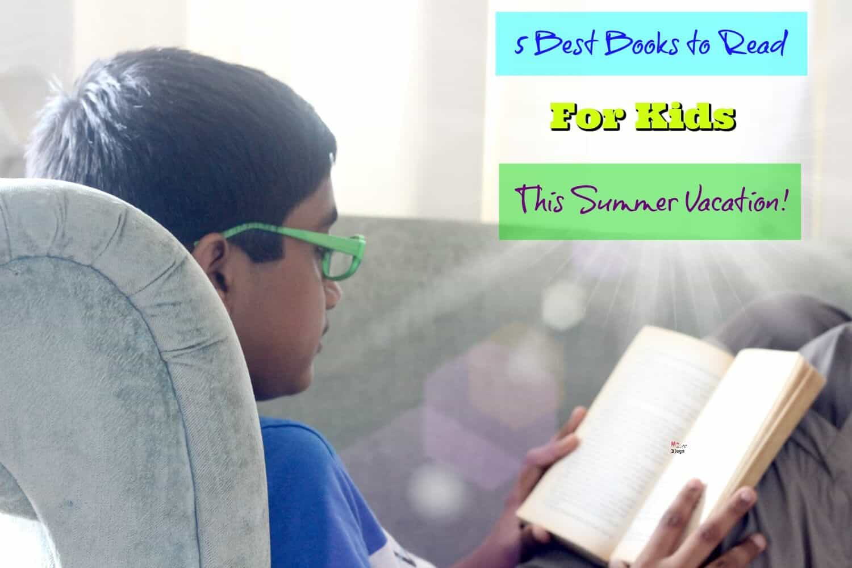 Best books for kids for summer holidays