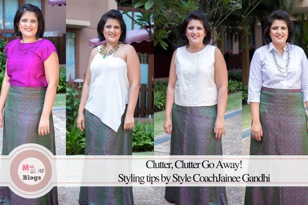 Clutter, Clutter Go Away: Styling Tips By Jainee Gandhi