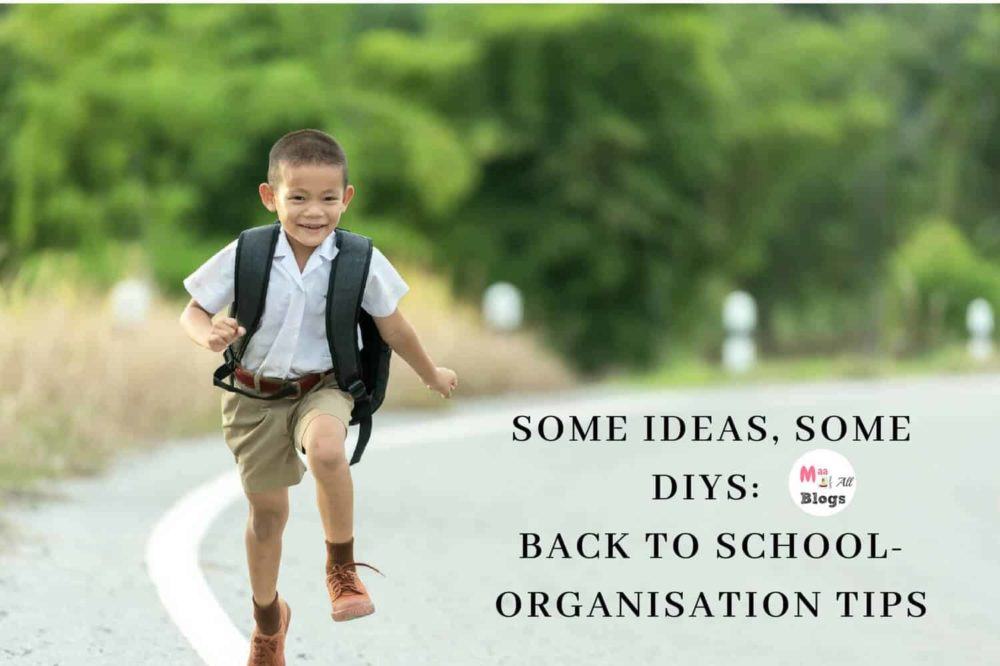 Some Ideas, Some DIYs: Back To School Organisation Tips