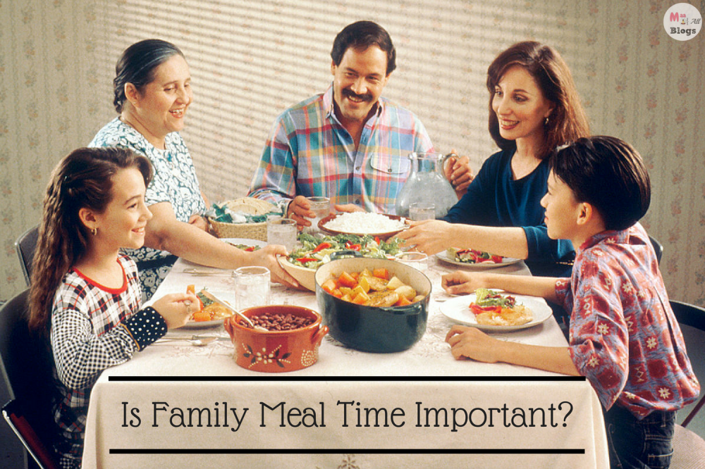 Is Family Mealtime Important?