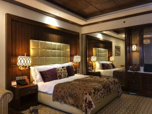 Room at The Khyber Resort & Spa Gulmarg